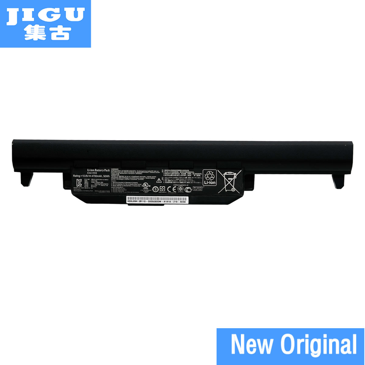 JIGU Original laptop Battery A32-K55 For Asus X45 X45A X45C X45V X45U X55 X55A X55C X55U X55V X75 X75A X75V X75VD U57 U57A U57V hsw 5200mah new 6 cells laptop battery for asus a45 a55 a75 k45 k55 k75 r400 r500 r700 u57 x45 x55 x75 a32 k55 a41 k55 bateria