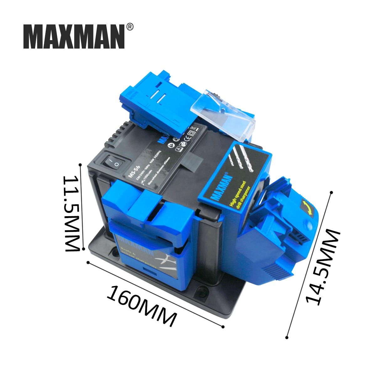 MAXMAN Professionnel Électrique Couteau Ciseaux Taille-Crayon Ciseau Avion Forage Affûtage Machine pour Couteaux de Cuisine Outil
