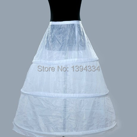 Hot Sale Cheapest Petticoats 3 Hoop Crinoline Underskit Bride ...