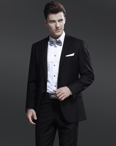 Aliexpress.com : Buy Size 44 54 Bridegroom Mens Tuxedo Suits ...