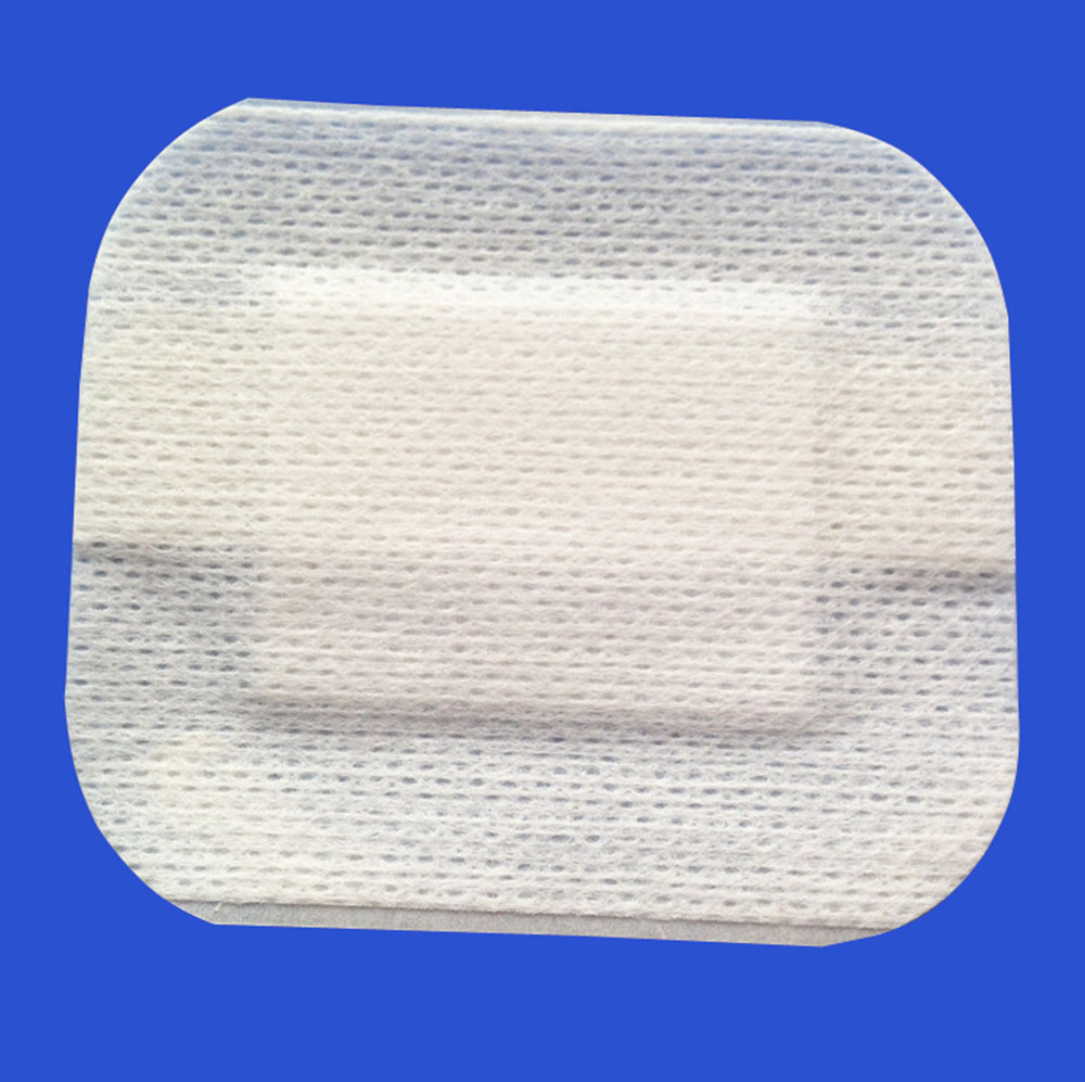 Fine Medical Non-woven Wound Dressing Self-adhesive Breathable Sterilization Wound Dressing Band-aid 6cm*7cm