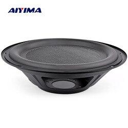 Aiyima 10 Polegada áudio subwoofer alto-falante baixo passivo radiador diafragma woofer alto-falantes peças de reparo acessórios para o teatro em casa