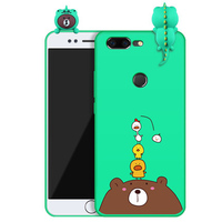 Fashion Phone Case For Oneplus 5T 5 T A5010 Case Back Case 3D Cute Cartoon Cover