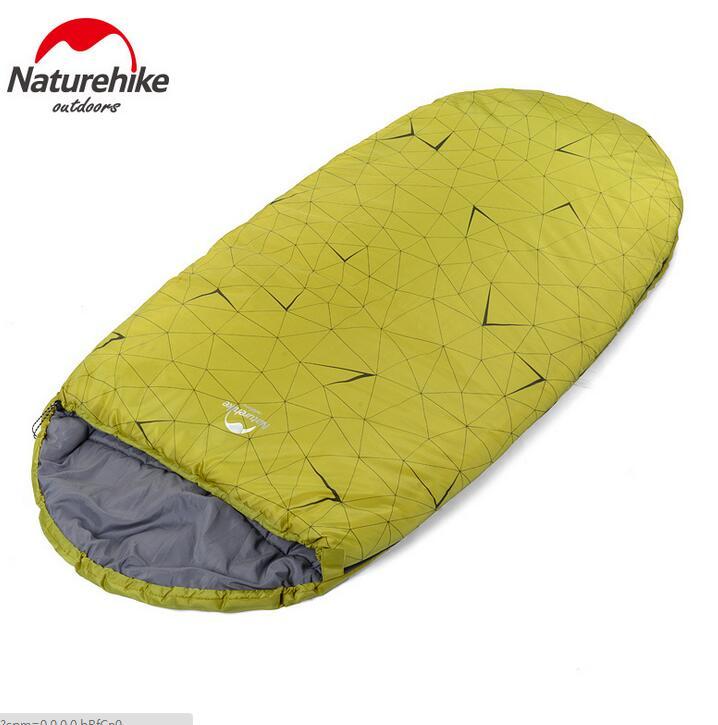 ФОТО NatureHike Outdoor Ultralight Cotton Sleeping Bag Winter Mummy Padded Sleeping Bags Camping Equipment