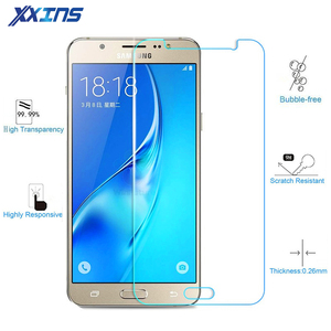 Tempered Glass For Samsung Galaxy A5 2017 J7 J5 J3 2016 2015 HALO Emerge Screen protective cover A520 J520 J710 J510 smartphone