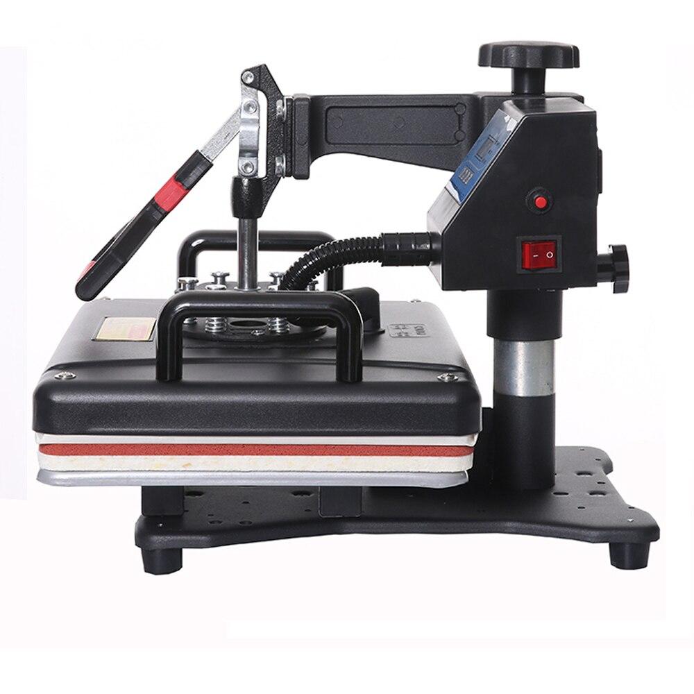 Goedkope 8 in 1 Warmte Pers/warmteoverdracht/Sublimatie/Warmte Druk Machine/Thermische Printer Sublimatie Voor tshirt/Mok/Cap/Telefoon Gevallen - 4