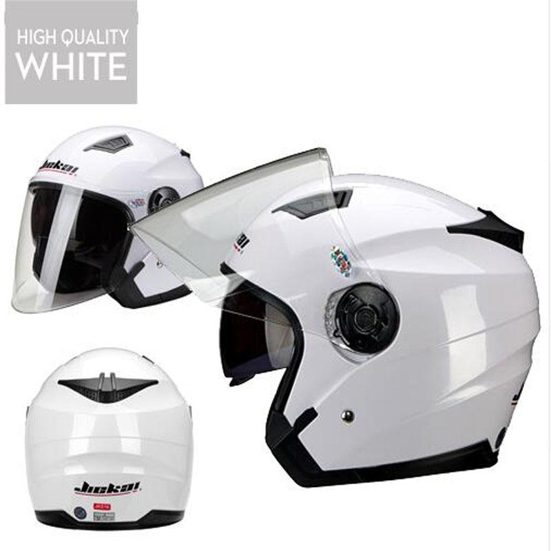 Men Motorcycle half Helmets Dual Lens Scooter Moto Helmet Casco vespa village Riding capacete de moto motocross Helmets