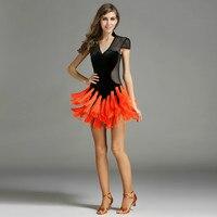 Latin Dress Women Fringe Latin Dance Dress Women Dance Dress For Girls