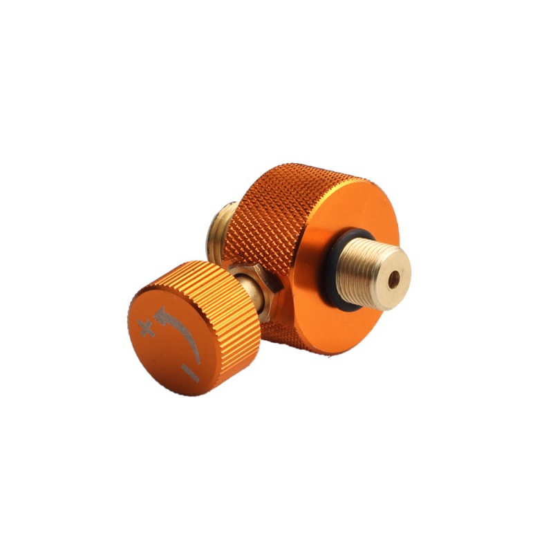 New Outdoor Camping Stove Adaptor Conversion Split Type Furnace Connector Cartridge Tank Gas Filling Adapter Gas Cylinder