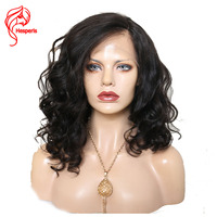 Hesperis Full Lace Human Hair Wig With Baby Hair 180 Density Glueless Full Lace Wigs Brazlian Remy Hair Lace Wigs Pre Plucked