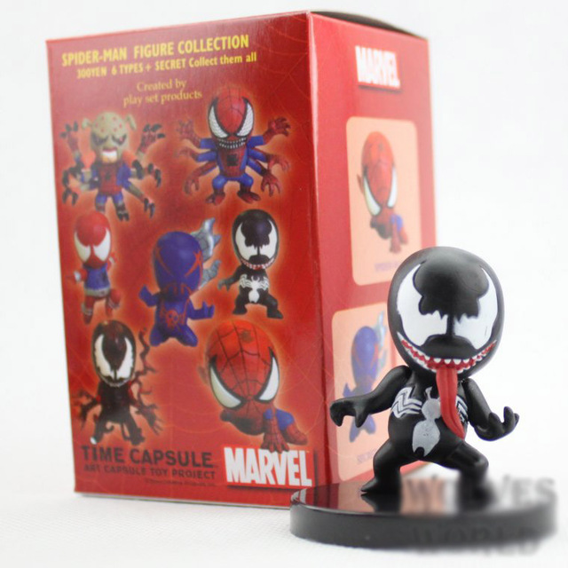 Spider-Man- The Amazing Spiderman Mini Action Figures (7pcs/set 6cm )