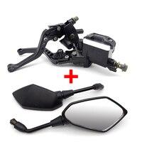 Motorcycle brake pump For Honda goldwing 1800 vtx 1800 cbr f4i cb 900 hornet today for Yamaha fz6 fz1 xj6 mt 09 fjr 1300
