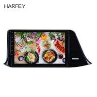 Harfey 9 Android 8,1 gps навигационное радио для 2016 2018 Toyota C HR LHD Bluetooth 3g WiFi цифровой ТВ автомобильный мультимедийный плеер