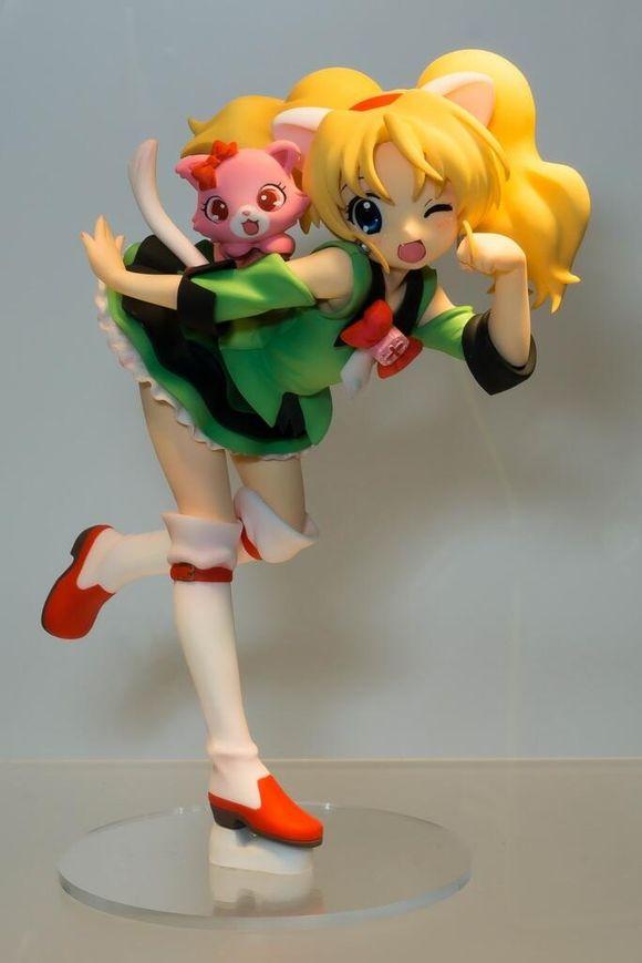 Japanese Original Anime Figure Jewelpet Milia Action Figure Collectible Model Toys For Boys