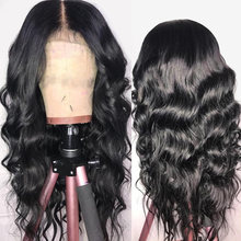 13*4 Lace Front Human Hair Wigs Pre Plucked Hairline Brazilian Body Wave Lace Frontal Wig with Baby Hair for Black Women Remy(China)