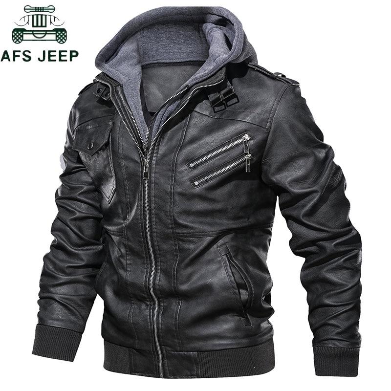 Livraison directe Oblique Zipper moto en cuir veste hommes marque militaire automne hommes vestes en cuir synthétique polyuréthane manteau taille européenne S-XXXL