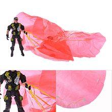 3 шт. 9 см десантники детские игры Спорт на открытом воздухе ручной бросок парашют Игрушечные солдатики