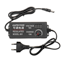Стиль 9-24 В 3 А 72 Вт AC/DC адаптер импульсный источник питания Регулируемый адаптер питания дисплей EU штекер высокое качество