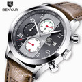 Мужские кварцевые часы BENYAR  спортивные  армейские  водонепроницаемые  с секундомером