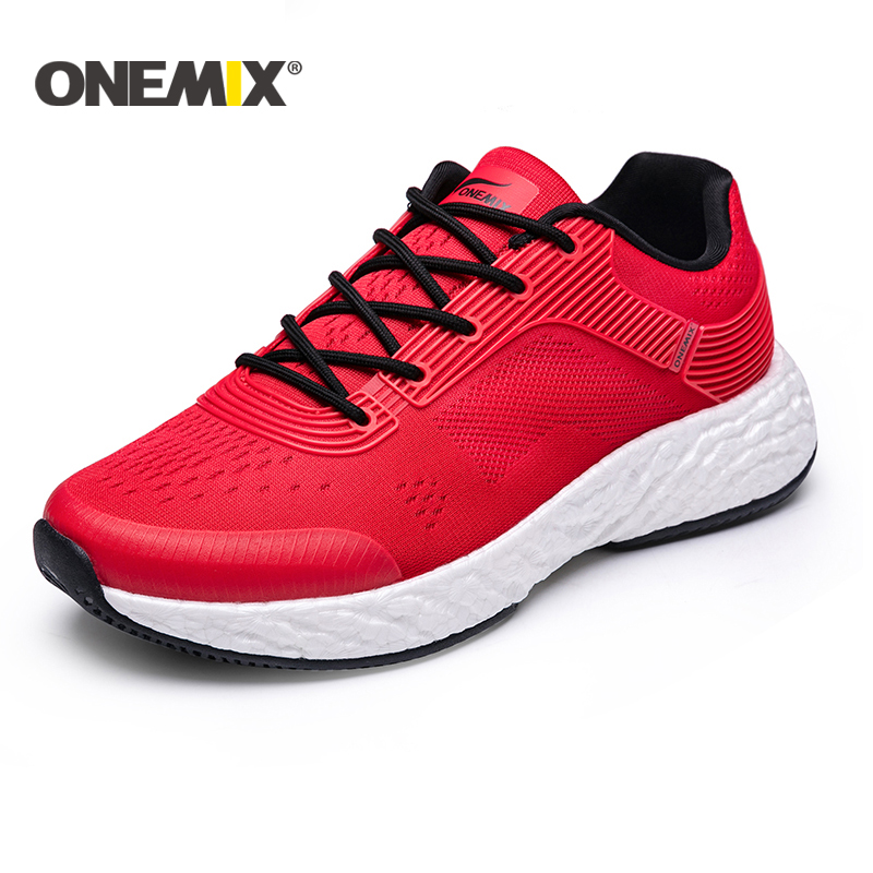 ONEMIX New Running Shoes for Men TPU Outsole Light Women Sneaker Outdoor Athletic Jogging Mesh Uppers