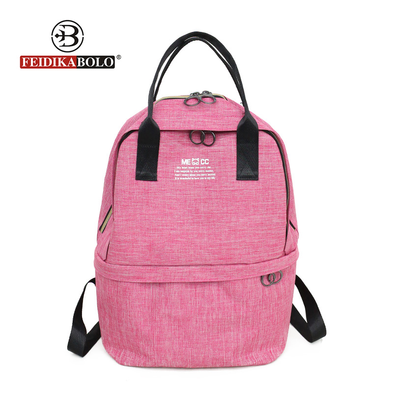 Large Capacity Backpack Women Preppy School Bags For Teenagers Unisex Oxford Travel Bags Girls Laptop Backpack Mochila New 2018