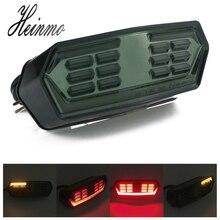 Для MSX125 MXS 125 CBR650F CTX700 CTX700N мотоциклетные светодио дный задние тормоза кабеля Стоп поворотники лампа мигалка сигнала 12 В
