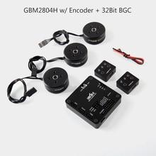 IPower Motor GBM2804H-100T con AlexMos BGC de 32 BITS Del Sistema Codificador Codificador AS5048A Combo Set