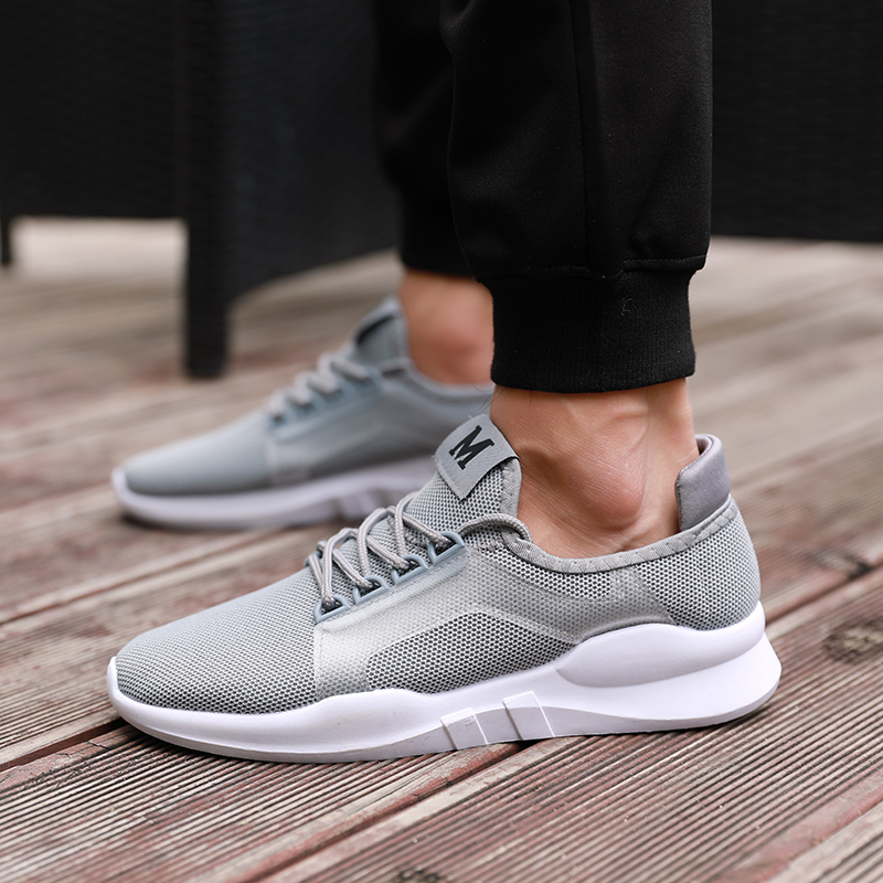 HEFLASHOR Men Casual Shoes Breathable Male Shoes Tenis Masculino Shoes Zapatos Hombre Sapatos Outdoor Shoes Sneakers For Men(China)