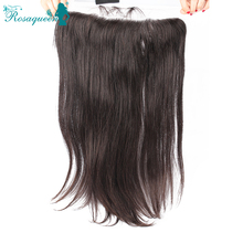 Brazilian Lace Frontal Closure 13x6 Straight Ear To Ear Lace Frontals With Baby Hair Virgin Human