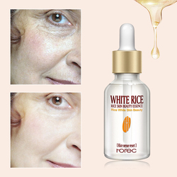 Pure Rice Face Serum For Whitening Serum Moisturizing Anti Aging Deep Firming Nourishing Liquid Skin Care Essence TSLM2
