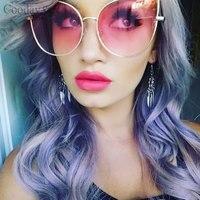 Coodaysuft Oversized Women Cat Eye Sunglass 2017 Fashion Classic Brand Designer Men UV400 Sun Glasses Frame