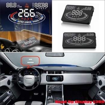 For Land Rover Range Rover 2010-2019 OBD HUD Car Head Up Display Driving Screen Projector Windshield