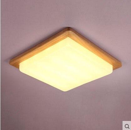 Modern Wood LED Ceiling Lamp For Living Room Light Fixtures,Luminaria Lustres De Sala Teto стоимость