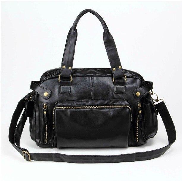 Nuevos bolsos masculinos bolso de LA PU bolsa de mensajero ocasional hombre bols
