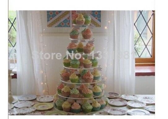 Производители продажи свадебный торт магазин уровня 7 необходимо yakeli башня торт ко дню рождения украшения акриловая стойка кекс