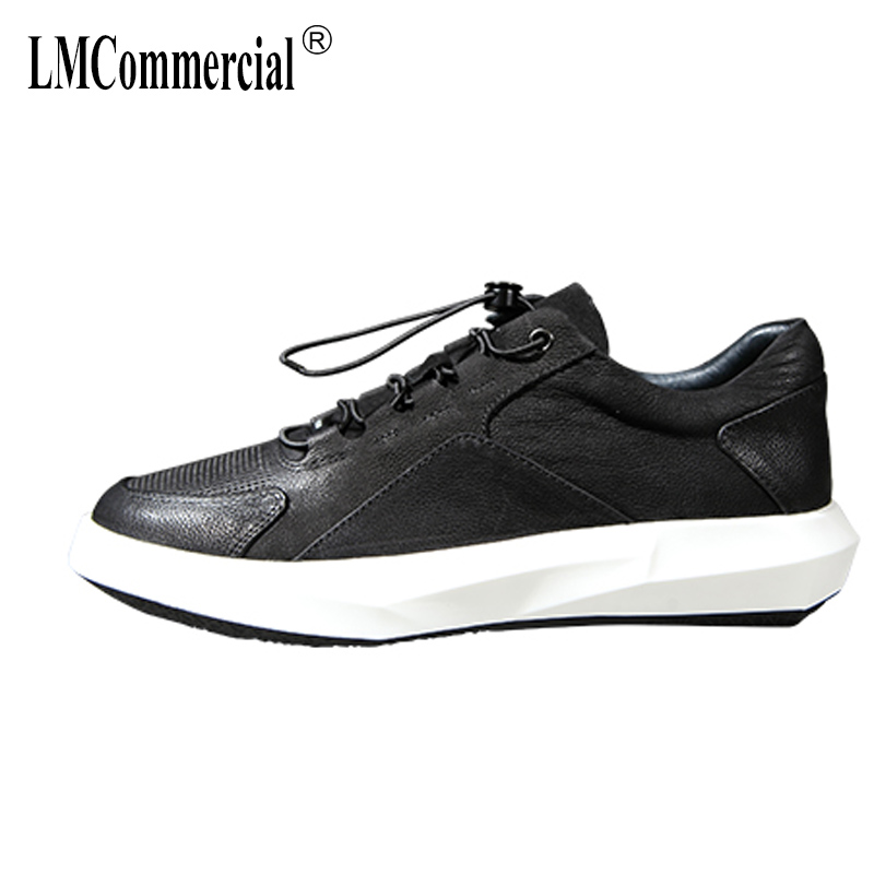 Men's spring autumn summer shoes 2018 new British retro casual shoes men Genuine leather shoes male all-match cowhide breathable