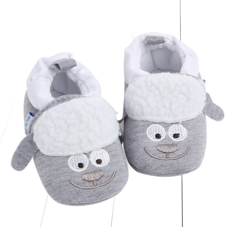 First Walkers Baby Shoes Cotton Anti-slip Booties Baby Girl Boy Shoes Animal Cartoon Newborn Slippers Footwear Booties Kids Gifts (41)
