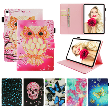 Funda For Apple iPad Pro 11 inch 2018 Fashion 3D Printed Butterfly Leather Flip Wallet Case Cover Silicone Shell Coque Stand
