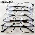 2016 новый весь рим мужской ретро винтаж сплава модные стильные очки 3 цветов рецепт 9709 обычная оформлены оптический кадров