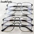 2016 New Full Rim Male Retro Vintage Alloy Fashionable Stylish Glasses 3 Colors Prescription 9709 Plain Decorated Optical Frames