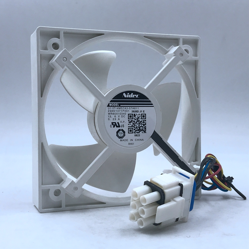 239D1371P001 high quality Refrigerator cooling fan U11P14MS7A3 For Nidec U11P14MS7A3-57A611 DC 13.6V 0.23A