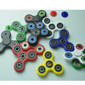 12 Color Tri-Spinner Fidget Toy Pvc EDC Hand Spinner For Rotation Time Long Hybrid eramic Bearing Anti Stress Toys