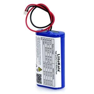 Image 4 - LiitoKala 3.7V 5200mAh 18650 Lithium Battery Pack Fishing LED Light Bluetooth Speaker 4.2V Emergency DIY batteries+2P plug