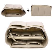 7b9ef7a88ea Brand Make up Organizer Felt Insert Bag For Handbag Travel Inner Purse  Portable Cosmetic Bag organizer