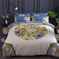 Bedding Set 1 pcs Cotton duvet cover Flower Printing Duvet Cover/quilt cover/comforter cover queen King full Size Free Shipping