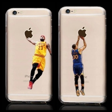 New Kobe Bryant Stephen Curry Basketball Stars font b Case b font for iPhone 6s Michael