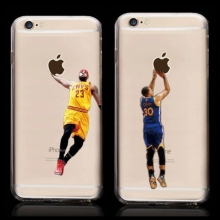 Novo Kobe Bryant jersey Stephen Curry Basketball Estrelas Caso para iPhone 6 s Michael Jordan LeBron James Capa Dura de Plástico para iPhone 6