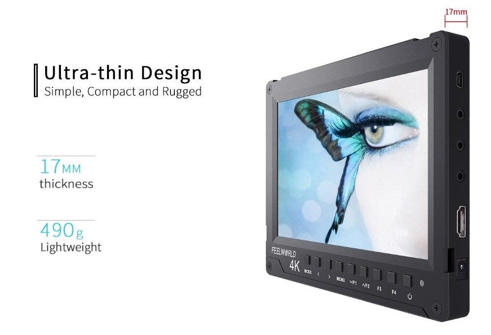 7 inch Ultra-thin Design full hd lcd monitor1