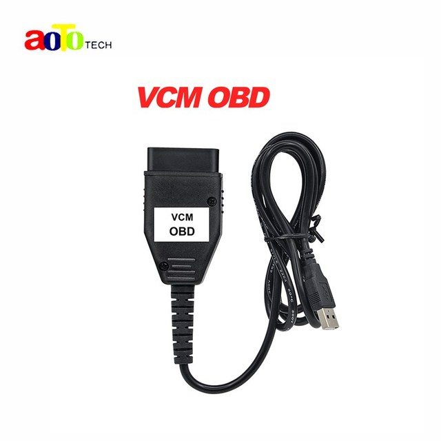 2016 Top vendendo Professional interface de diagnóstico vcm obd multi-linguagem vcm obd Super scanner frete grátis