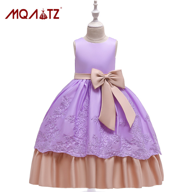MQATZ Fancy Flower Long Prom Gowns Teenagers Dresses for Girl Children Party Clothing Kids Evening Formal Dress for BridesmaidMQATZ Fancy Flower Long Prom Gowns Teenagers Dresses for Girl Children Party Clothing Kids Evening Formal Dress for Bridesmaid